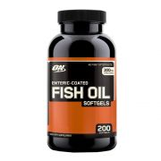 Optimum Nutrition FISH OIL 200 kaps.Galioja 2019-12-31