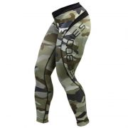 Better Bodies Camo Long Tights Green