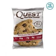 Quest Nutrition Protein Cookie 12x59g.Glioja 2019-12-16